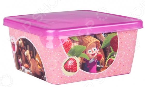Детская емкость для хранения «Маша и Медведь» 0616001