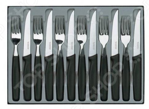 Набор столовых ножей Victorinox Standart. Количество предметов: 12 набор ножей для стейков victorinox swissclassic 6 предметов черный