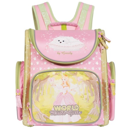 Купить Рюкзак школьный Grizzly RA-668-3/1