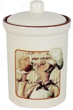 Банка для сыпучих продуктов Terracotta «Шеф-повар»