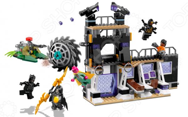 Конструктор игровой LEGO Super Heroes «Атака Корвуса Глейва»
