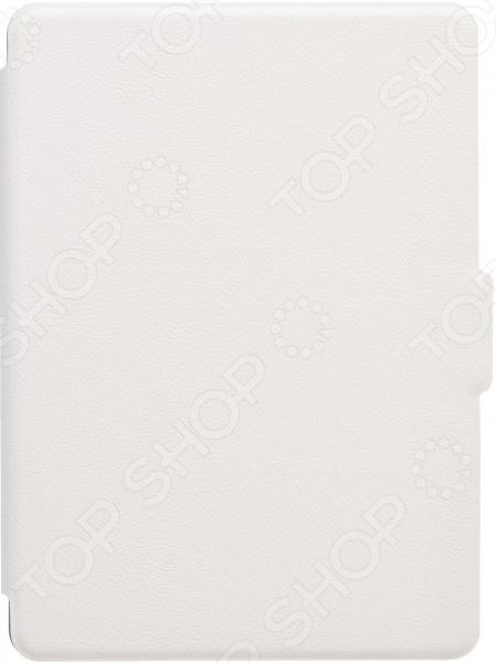 Хотите, чтобы гаджет служил вам как можно дольше и выглядел как новенький Это легко осуществимо с чехлом для электронной книги skinBOX slim для PocketBook Reader 1! Надежный, практичный, стильный аксессуар защитит корпус устройства от механических повреждений, появления потертостей и надолго сохранит его внешний вид неизменным.  Флип-чехол выполнен из прочного и приятного на ощупь пластика. Он закрывает заднюю крышку, боковые панели и экран, поэтому электронная книга надежно защищена со всех сторон.   Форма чехла гарантирует удобный доступ к кнопкам и разъемам. Верхняя панель легко откидывается, открывая доступ к экрану гаджета.  Аксессуар надежно защищает устройство от пыли, сколов и капель воды. При падении он принимает удар на себя. Чехол обеспечивает удобное ношение электронной книги в кармане или сумке.  Отсутствие дополнительных элементов декора делает аксессуар универсальным он понравится и женщинам, и мужчинам.  Чехол практически не прибавляет гаджету объем и вес.  Отделка экокожей придает аксессуару особую роскошь и презентабельность.  Чехол-книжка от бренда skinBox оптимальное решение для обладателей электронных книг Reader 1 от PocketBook. Он отлично подойдет для повседневного использования.