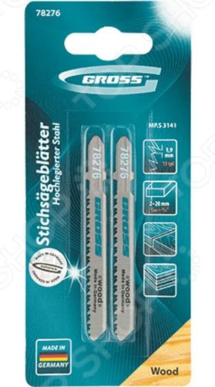 Пилки для электролобзика GROSS 78276 заклепочник усиленный gross 40409