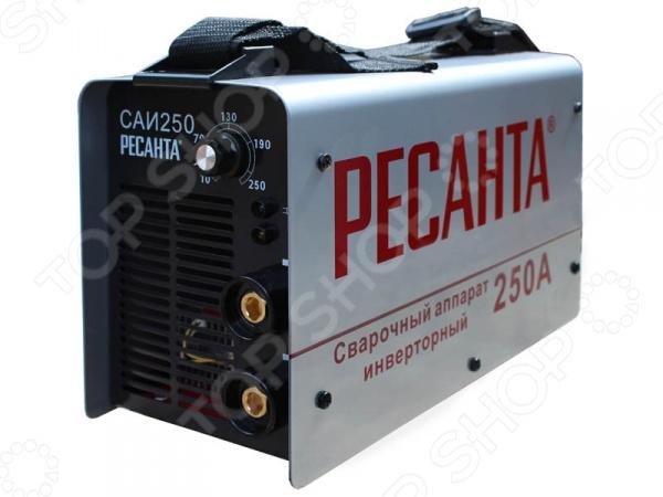 Сварочный аппарат Ресанта САИ 250К сварочный аппарат ресанта саи 250к компакт 65 38