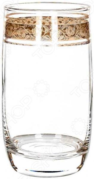 Набор стаканов Гусь Хрустальный «Эдем. Флорис» набор бокалов для бренди гусь хрустальный флорис 400 мл 6 шт