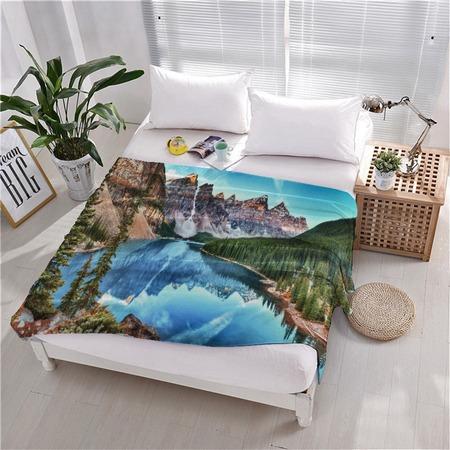 Купить Плед флисовый ТамиТекс «Тихая гавань»