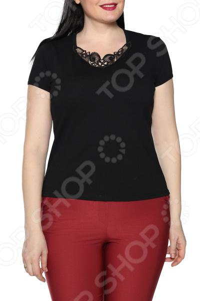 Блуза Ивассорти «Волнующее кружево». Цвет: черный