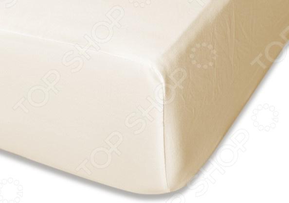 Простыня на резинке Cleo 039-MS простыня на резинке cleo 160х200 см cl