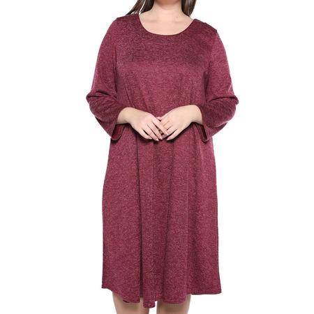 Купить Платье Pretty Woman «Душевный уют». Цвет: бордовый