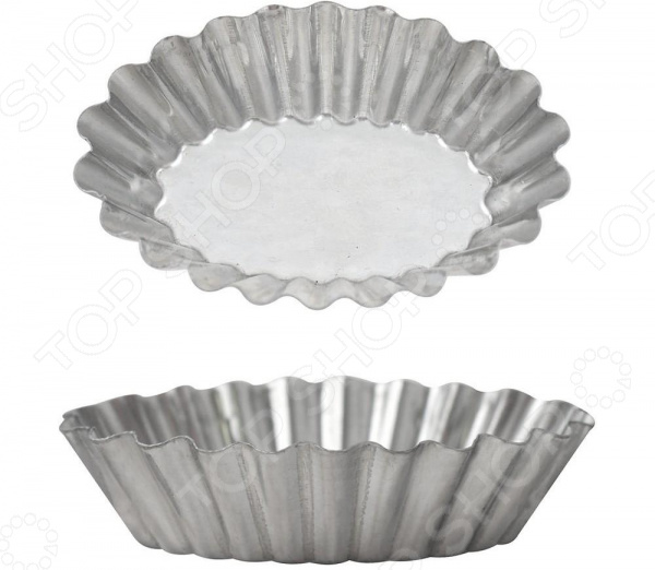 Фото - Набор форм для выпечки Мультидом «Овал» DA8-153 набор форм для выпечки одноразовый мультидом мо8 106