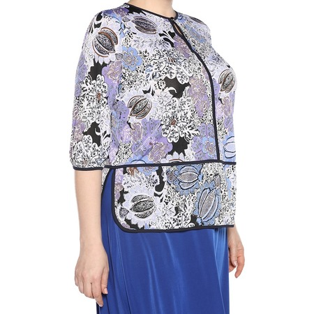Купить Блуза Wisell «Китайский орнамент». Цвет: сиреневый