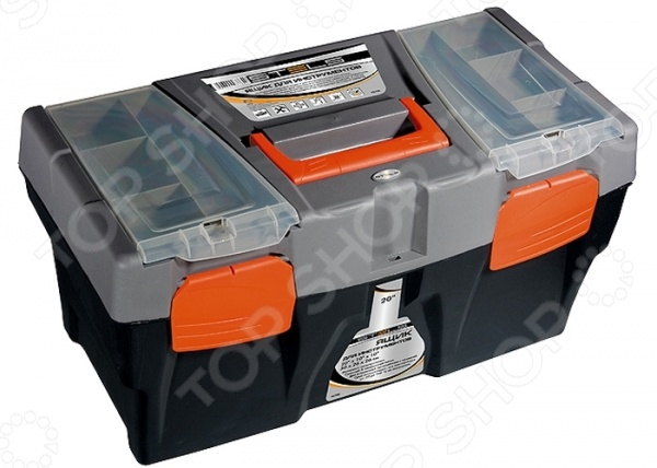 Ящик для инструмента Stels ящик для инструмента с металлическими замками 16 175х210х410мм stels россия 90711