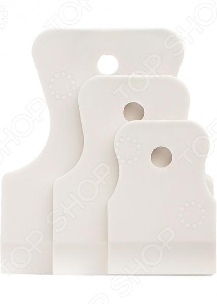 Набор шпателей СИБРТЕХ 85803 набор шпателей для выравнивания archimedes stabi 4 шт