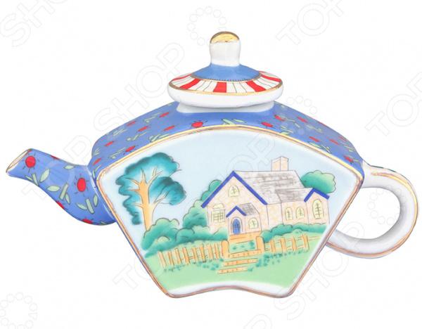 Чайник сувенирный Elan Gallery «Домик в деревне» Elan Gallery - артикул: 967586