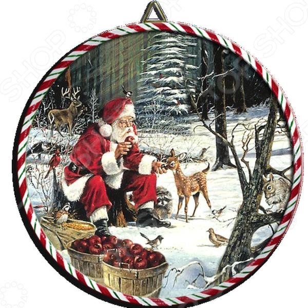 Подставка под горячее Gift'n'home «Санта с животными»