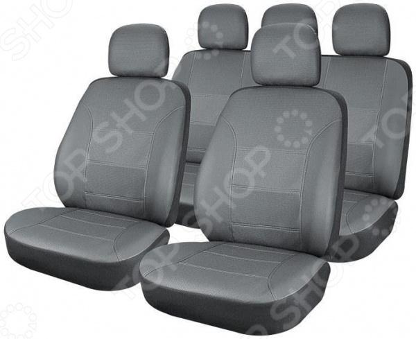 Набор чехлов для сидений Airline Cardinal ACS-UEL Набор чехлов для сидений Airline Cardinal ACS-UEL-01 /Серый