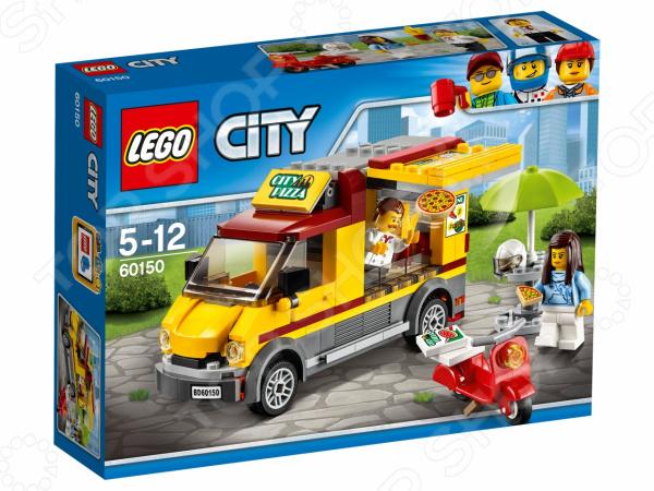 Конструктор игровой LEGO City «Фургон-пиццерия» конструктор lego friends 41129 парк развлечений фургон с хот догами