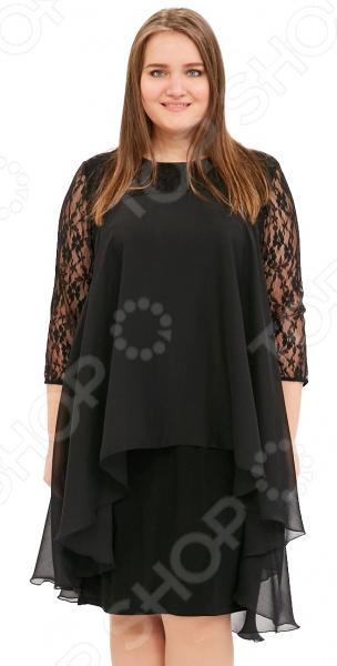 Платье Pretty Woman «Небесная красота». Цвет: черный платье paper dolls платья и сарафаны кружевные ажурные и гипюровые