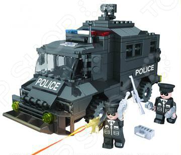 Конструктор игровой 1 Toy «Полицейский спецназ. Бронемашина» Конструктор игровой 1 Toy «Полицейский спецназ. Бронемашина» /