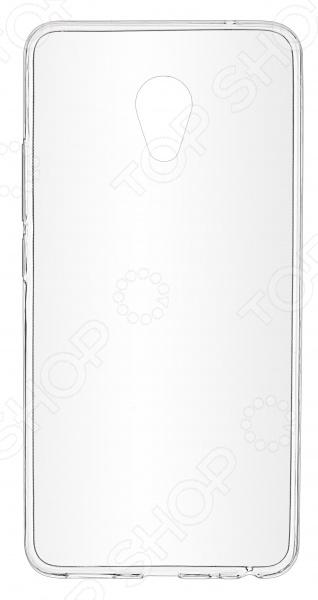 Чехол защитный skinBOX Meizu M3E чехол для meizu m6 skinbox 4people slim silicone прозрачный накладка