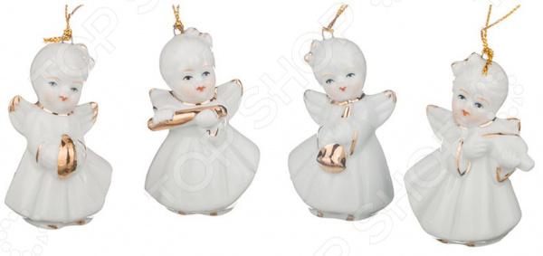 Набор фигурок декоративных Lefard «Ангелы-музыканты»