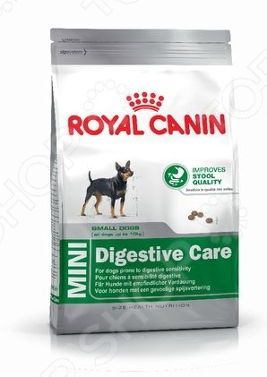 Корм сухой для собак мелких пород Royal Canin Mini Digestive Care
