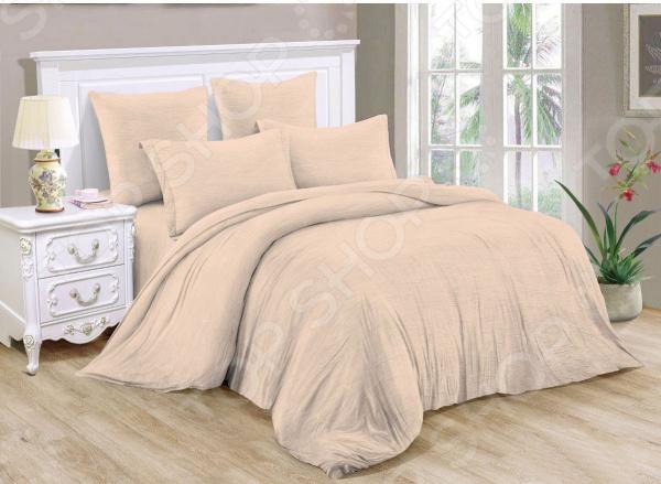 Фото - Комплект постельного белья Cleo Pastel Symphony 042-PT постельное белье этель кружева комплект 2 спальный поплин 2670978