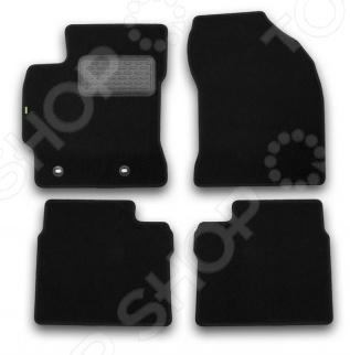 Комплект ковриков в салон автомобиля Klever Toyota Corolla 2013 Standard коврики в салон toyota corolla 2007