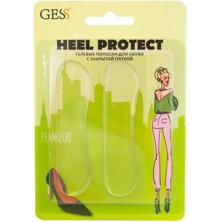 Купить Полоски гелевые для обуви с закрытой пяткой Gess Heel Protect