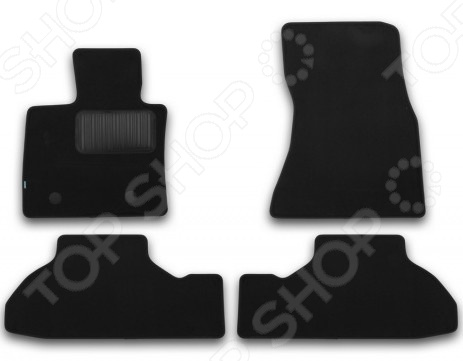 Комплект ковриков в салон автомобиля Klever BMW X6 F16 2014 Premium цена