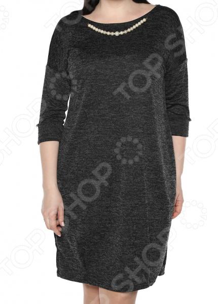 Платье Jenks «Жемчужная романтика». Цвет: черный платья jenks платье