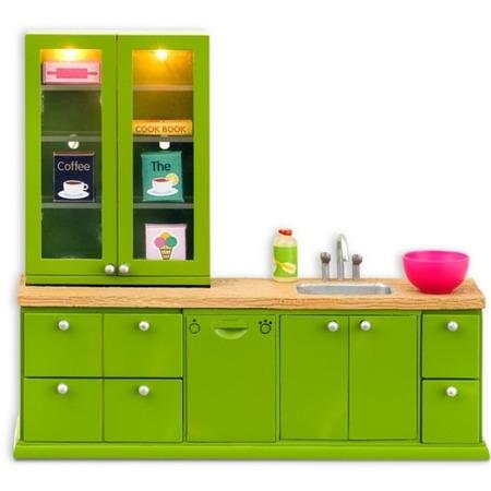 Купить Мебель для куклы Lundby Smoland «Кухня с буфетом»