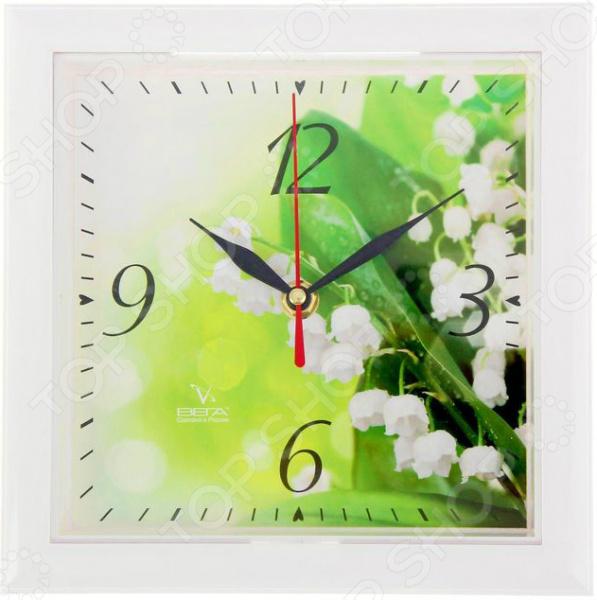 Часы настенные Вега П 3-7-120 «Ландыши»