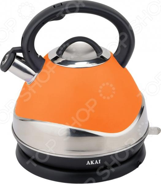 Чайник Akai KW - 1087 Z со свистком. В ассортименте чайник akai kw 1086r