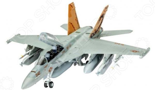 Сборная модель самолета Revell EA-18G Growler 17 18g to252