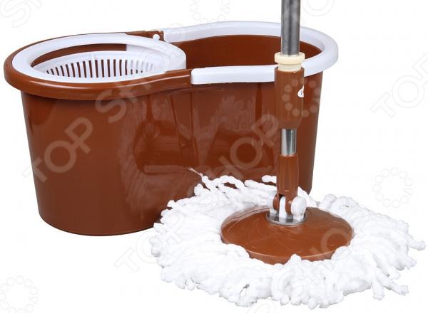 Комплект для уборки полов: швабра и ведро с отжимом Rosenberg R-800006 rosenberg r 519