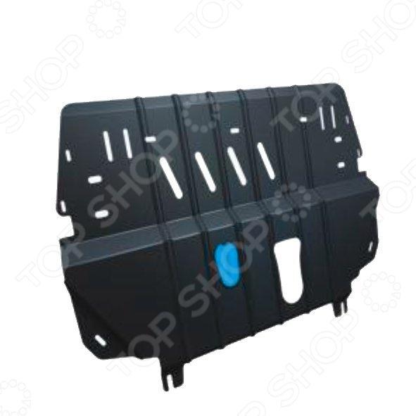 Комплект: защита КПП и крепеж Novline-Autofamily Mitsubishi Pajero Sport 2008: 3,0 бензин АКПП