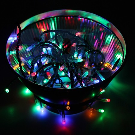 Купить Гирлянда светодиодная Neon-Night «Твинкл Лайт». Цвет свечения: мультиколор