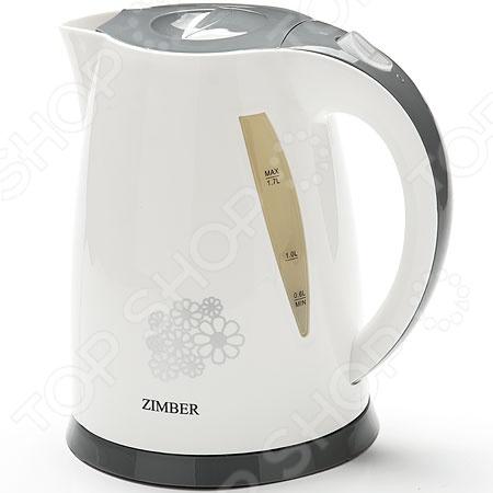 Чайник Zimber ZM-11074 чайник zimber zm 10853 2200 вт 1 7 л пластик белый розовый