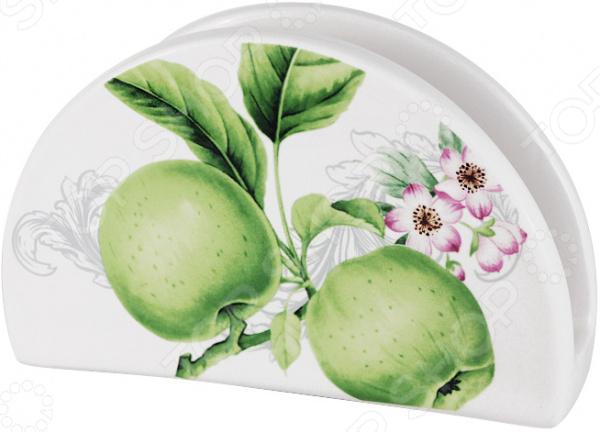 Салфетница Imari «Зеленые яблоки» банка для сыпучих продуктов imari зеленые яблоки im55060 1 a2211al