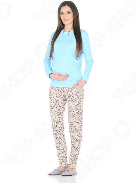Домашний костюм для беременных Nuova Vita 407.1