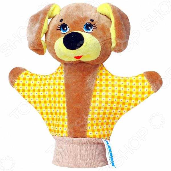 Игрушка-рукавичка Мякиши «Собачка». В ассортименте