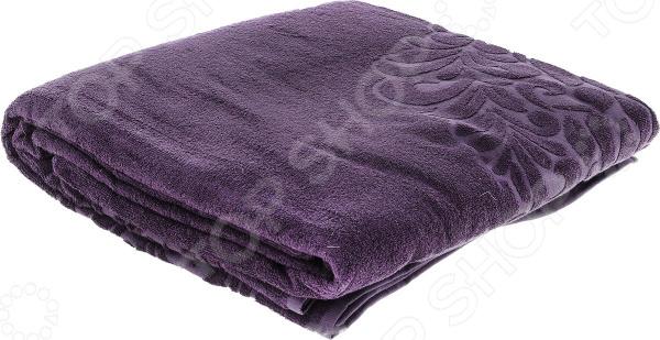 Покрывало Issimo Home Valencia Cover. Цвет: пурпурный
