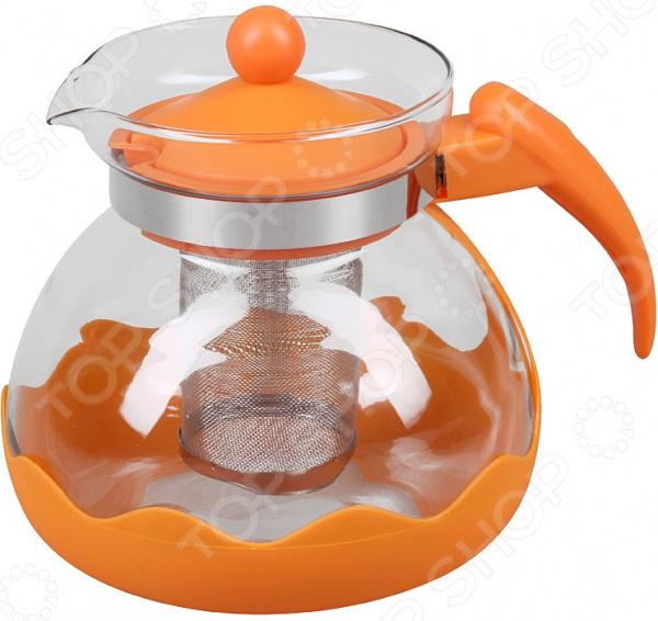 Чайник заварочный Rosenberg «Радость» чайник заварочный rosenberg rgl 250019 1 1l
