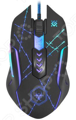 Мышь Defender Forced GM-020L USB игровая мышь defender forced gm 020l black
