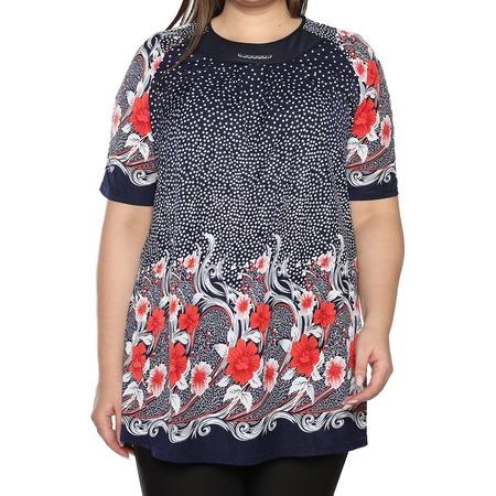 Купить Блуза Лауме-Лайн «Источник красоты». Цвет: коралловый
