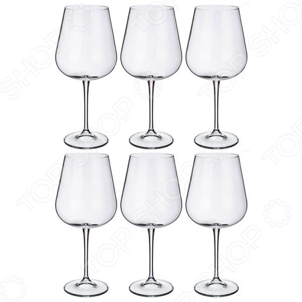 Набор бокалов для вина Crystalite Amundsen Ardea 669-225 набор бокалов для бренди коралл 40600 q8105 400 анжела