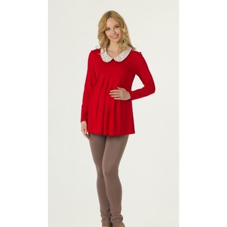 Купить Кофта для беременных Nuova Vita 1314.14. Цвет: красный