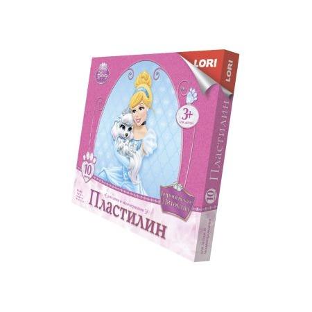 Купить Набор пластилина Lori «Королевские питомцы 10»