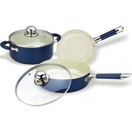 Купить Набор кухонной посуды с внутренним керамическим покрытием Vitesse VS-2223